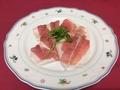 料理メニュー写真イタリアパルマ産生ハム