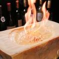 【Velonica風リゾットの作り方2】香ばしいチーズの匂いがお店全体に広がります♪焼き目がついてきたらここで特製のリゾットを投入!
