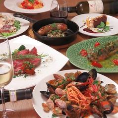 cuoco italiano GOCCI クッコ イタリアーノ ゴッチのコース写真