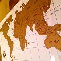 世界地図はコミュニケーションツール♪