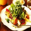 料理メニュー写真彩り旬のチョレギサラダ
