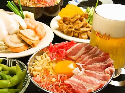 <もんじゃ&お好み焼き食べ放題>浅草に来た際はお立ち寄り下さい。