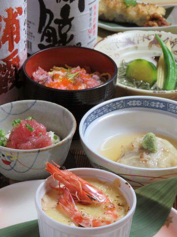 バラちらし寿司付き5000円飲み放題コース