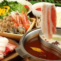 《肉割烹×創作和食》しゃぶしゃぶやもつ鍋も人気!