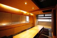 雰囲気のよい個室、大宴会場