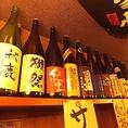 全国から仕入れた貴重な日本酒や焼酎!!