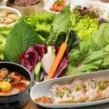 料理メニュー写真スンドゥブチゲ&薬膳ポッサム(茹で豚) サンパセット