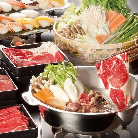 安心・安全なお肉と新鮮野菜が思う存分堪能できる『お鍋の食べ放題レストラン』です♪