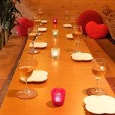 8名~14名様まで対応可能なテーブル席!!落ち着いた空間でゆったりと!!