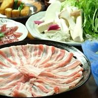 沖縄黒豚のしゃぶしゃぶは定番の人気☆