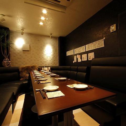 九州料理が楽しめる居酒屋 10~15名様ご利用可能な個室ご用意しています。