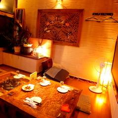 完全個室。10名様収容可能です。