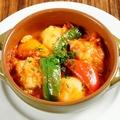 料理メニュー写真若鶏のトマト煮込み