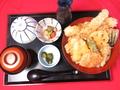料理メニュー写真特大!穴子天丼