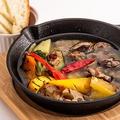 料理メニュー写真砂肝のアヒージョ
