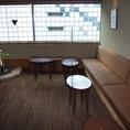 待合室。梅昆布茶をお出ししてます。