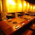 10人以上ならこの大テーブル席を占領可能★ 「牛角西船橋店」