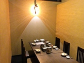 2~6名様用のお席です。気の合う仲間と楽しい時をお過ごしください。※12名~13名の個室もご用意ございます。