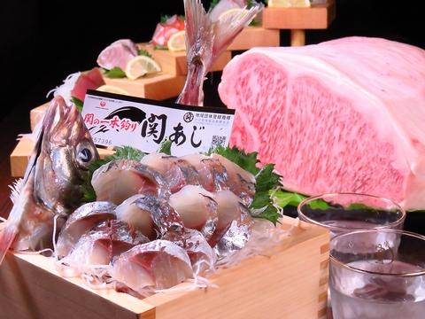 雰囲気抜群☆安くて旨い!大分近海の鮮度抜群の魚、肉、野菜を炉ばた焼きスタイルで♪
