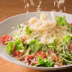 料理メニュー写真■シーザーサラダ たっぷりパルメザンチーズがけ!