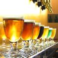 7種の生ビールをご用意!お好みのビールをお探しください!