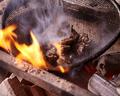 料理メニュー写真純和鶏 ももの炭火焼き