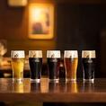 ヱビス生ビールは全5種類。飲み比べて楽しんで!