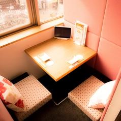 ◆2様向けのお席◆掘りごたつ個室でゆったりと♪恋人同士でのご利用におすすめのカップルシートをご用意しました!プライベートな個室空間で普段のように寛ぎながら大切なひとときをお過ごしください。サプライズにも使える個室です。