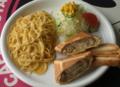 料理メニュー写真レディースプレートランチ