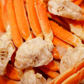 料理メニュー写真茹で蟹、蟹鍋食べ放題★+ソフトドリンク1杯付