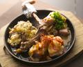 料理メニュー写真【第3位】骨付き鶏もも1本焼き
