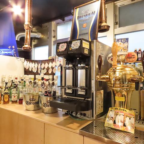 知多半田駅から徒歩1分!【セルフ】飲み放題が出来る珍しいホルモン屋です。