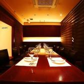 8~10名様までご利用できるスペース。気品溢れる大人半個室★ご接待や大人の合コンにピッタリ!※こちらのお席は半個室です。