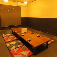 6~20名座敷席×1卓ございます。座敷席で完全個室となっておりますのでゆっくりお寛ぎいただけます♪