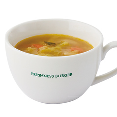 ■ベジタブルスープ