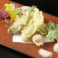 料理メニュー写真穴子天ぷら