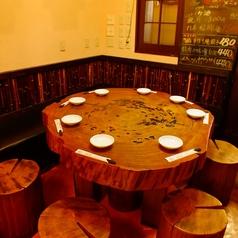 ≪円卓≫最大8名様までご利用頂ける円卓★リーズナブルに中華料理をご堪能頂けます。