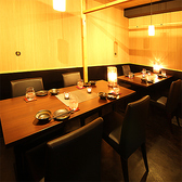 テーブル個室も完備!個室は2名様~完備致しております♪ご宴会にも接待にもご利用頂けます。