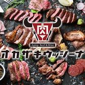 熟成肉バル オカザキウッシーナ 東岡崎駅前店 安城・刈谷・岡崎・知立・蒲郡のグルメ
