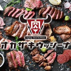 熟成肉バル オカザキウッシーナ 東岡崎駅前店