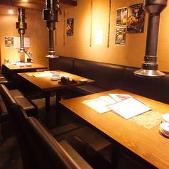 焼肉 酒房 青とうがらし 大和店の雰囲気1