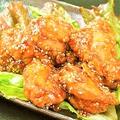 料理メニュー写真国産地鶏の唐揚げ