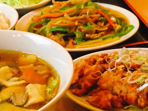 中華メニューはなんと40~80種類から選べるオーダー式食べ放題コース!!