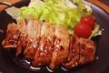 料理メニュー写真北海道産豚ロースのグリル