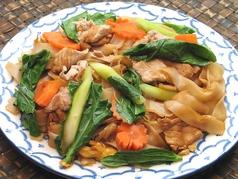 料理メニュー写真タイ醤油風味太麺焼きビーフン