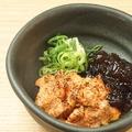 料理メニュー写真炙りアン肝ポン酢