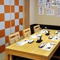 3階は団体様用に宴会などの貸切を行なっております。築地では珍しい寿司屋で貸切が出来る空間となってます。大切な取引先との会食やご宴会などにご利用下さい。