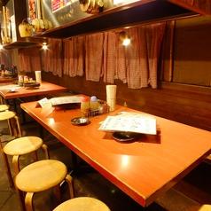 テーブル席の半貸切も17名様まで対応可能☆