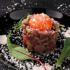 牛肉のローストタルタル