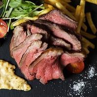 こだわりの豪快肉料理!!一番人気イチボのシュラスコ★